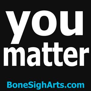 you matter, sticker