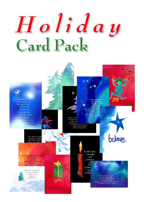 holiday card pack #1