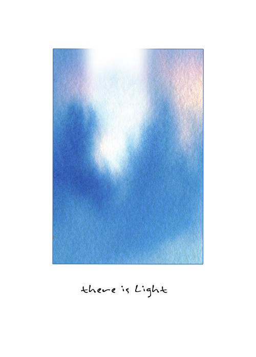 there is light holiday card pack