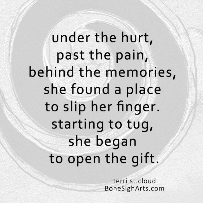 under the hurt