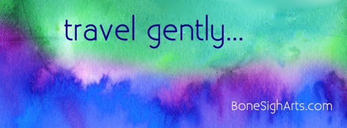 gently
