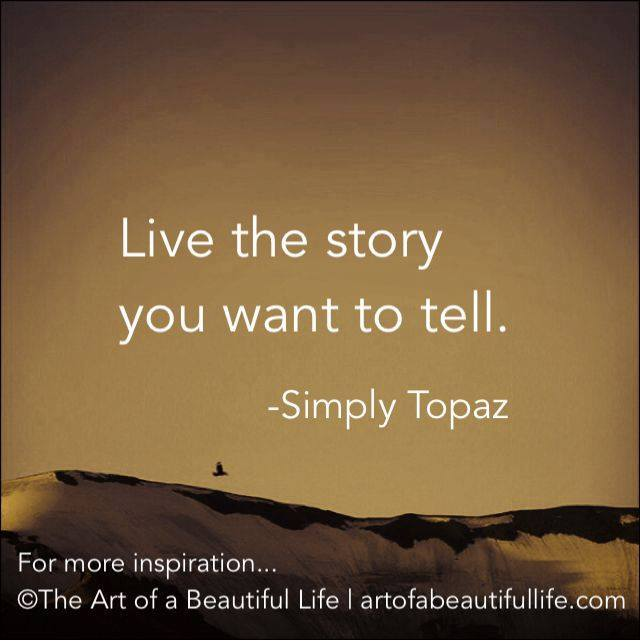 live the story